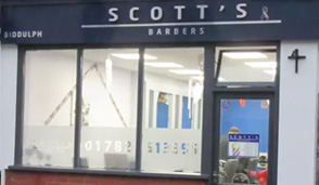 Scotts Barbers Biddulph