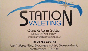 Station Valeting Stoke on Trent